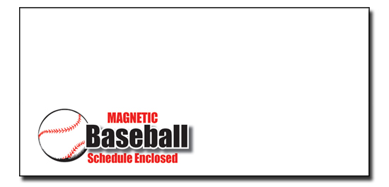Baseball Envelope