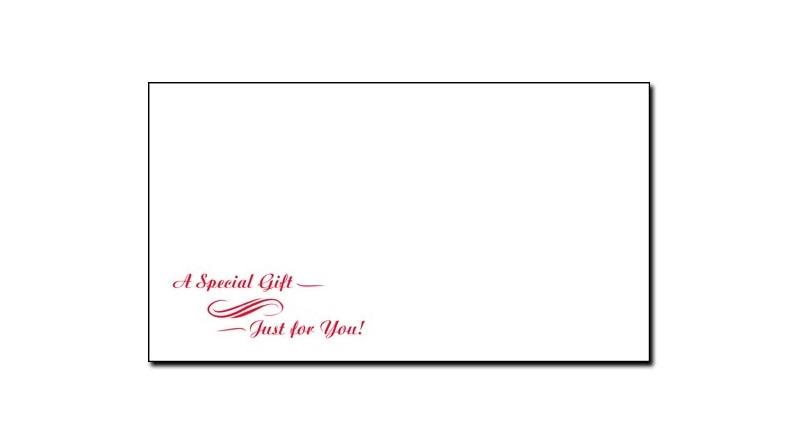 Generic #7 Envelope